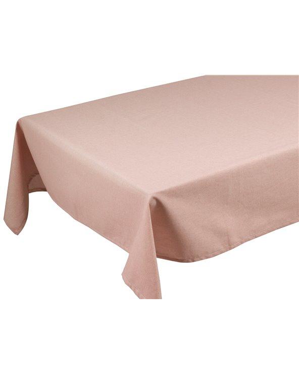 Mantel Old Panamá rosa 200x135 cm