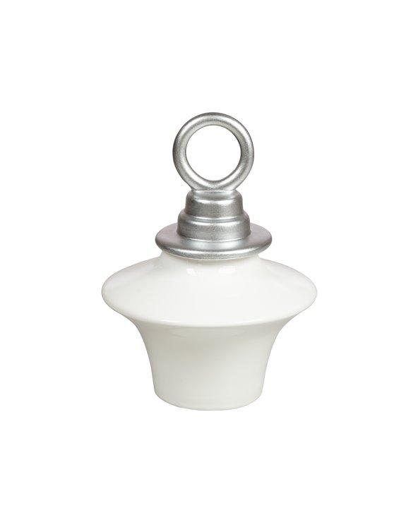 Small silver tibor