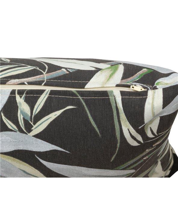Cojín Silvia negro 30x50 cm