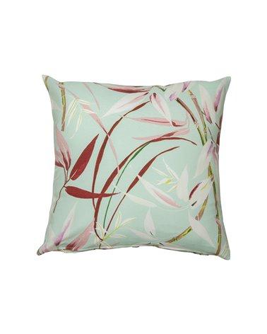 Silvia green cushion 45x45 cm
