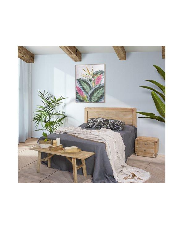 Silvia black cushion 45x45 cm