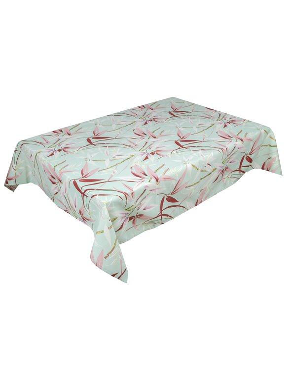 Silvia green tablecloth 135x200 cm