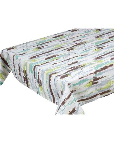 Silvia tablecloth natural colors 135x200 cm