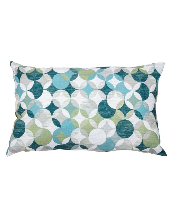 Sonia cushion in turquoise colors 30x50 cm
