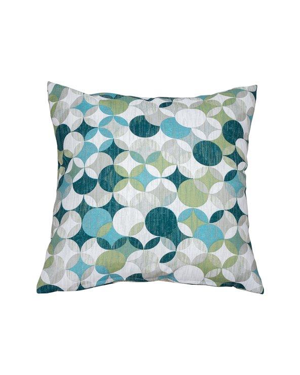 Sonia-kudde i turkosfärger 45x45 cm