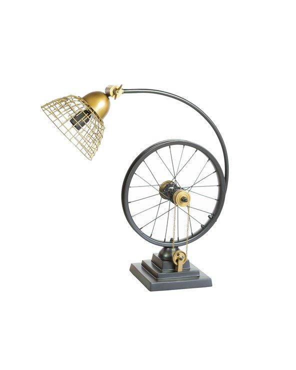 Lámpara de mesa rueda
