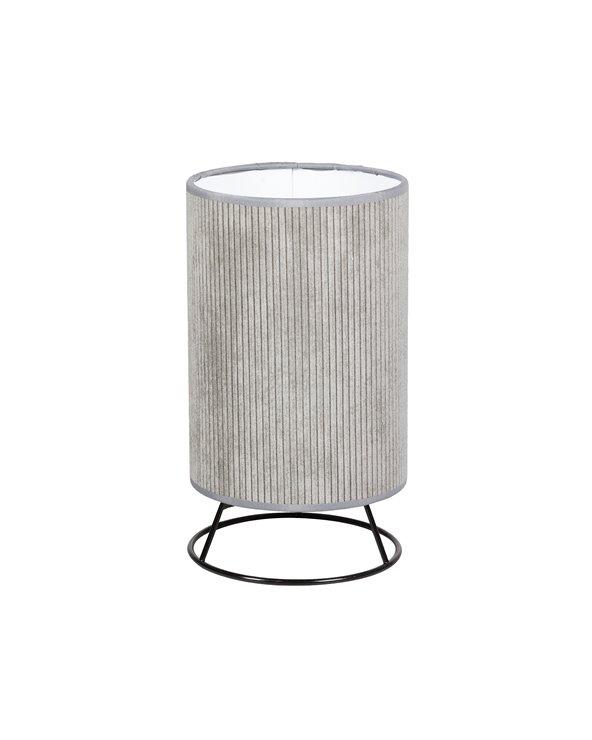 Lámpara de mesa Cube pana