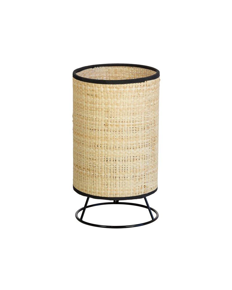 Lámpara de mesa Cube natural