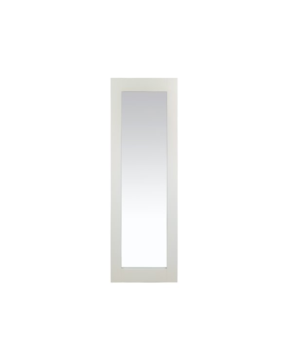 Colonial white mirror 150x50 cm