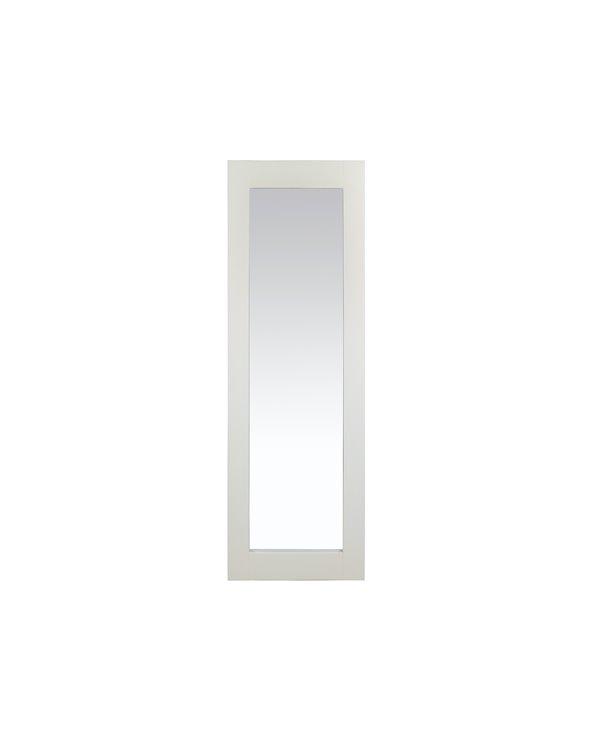 Espejo blanco colonial 150x50 cm