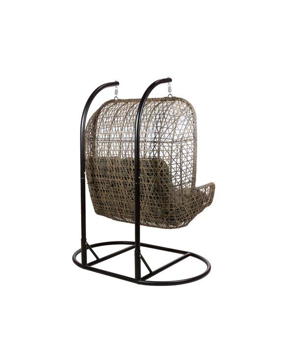 Swing double basket