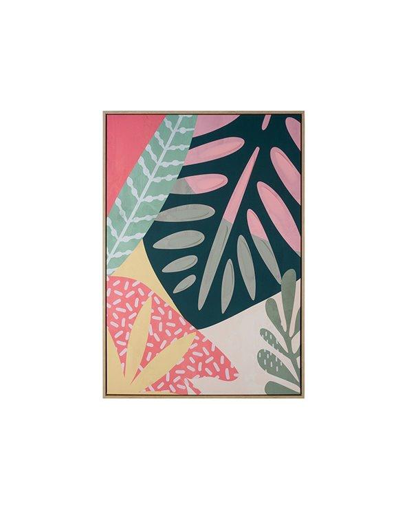 Rosa bladmålning