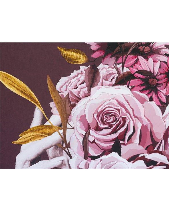 Cuadro ramo rosas