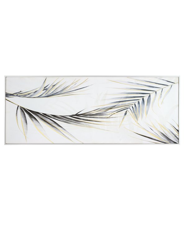 Palm leaf painting