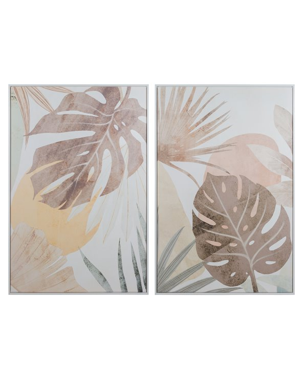 Set 2 paintings Nude