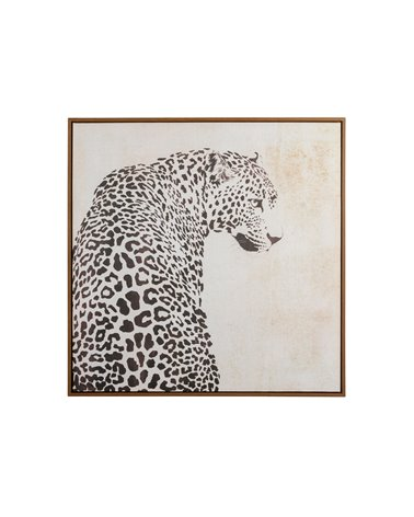 Quadre lleopard Blanco i Negre