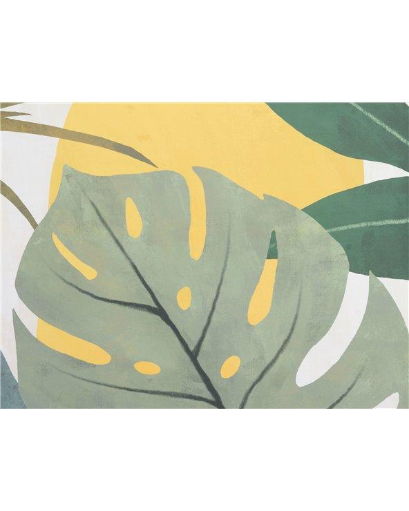 Set 2 cuadros hojas