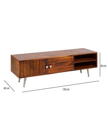 Slat TV table