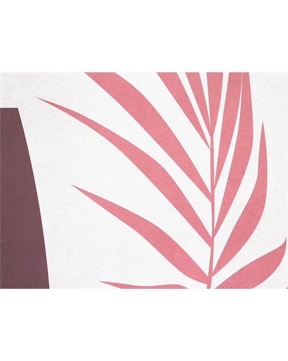 Plant leaf painting