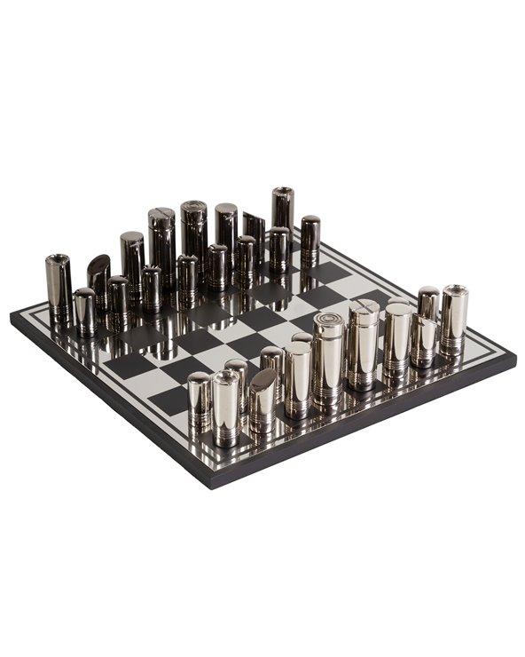 Zilver schaken