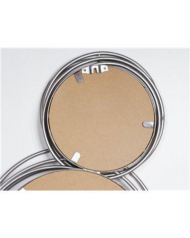 Wall mirror 4 rings