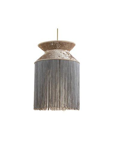 Lámpara de techo Cancán gris 30x30 cm