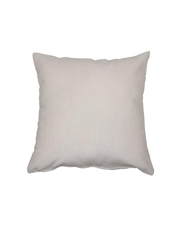 Natural corduroy cushion 45x45 cm