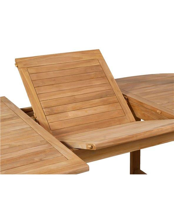 Taula extensible i 6 cadires