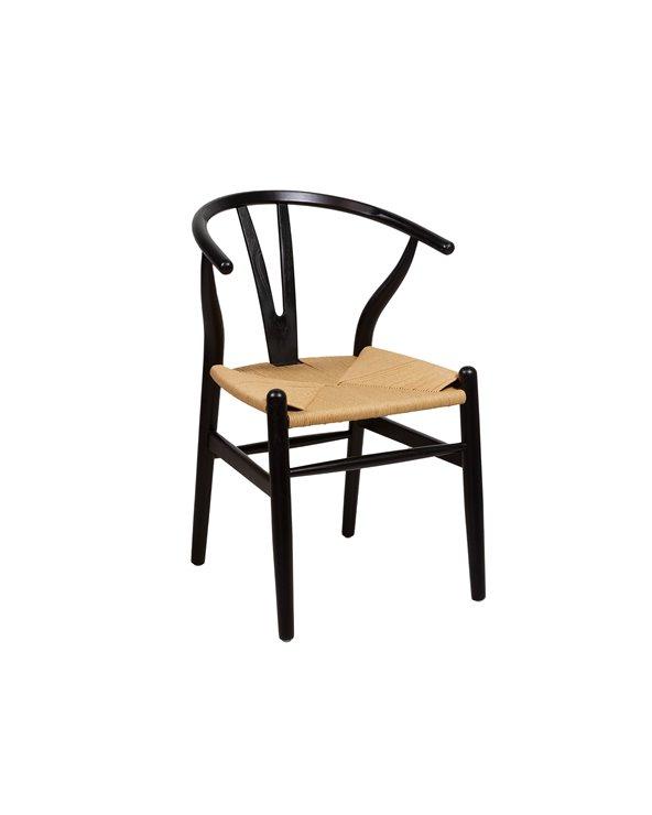 Elm chair black