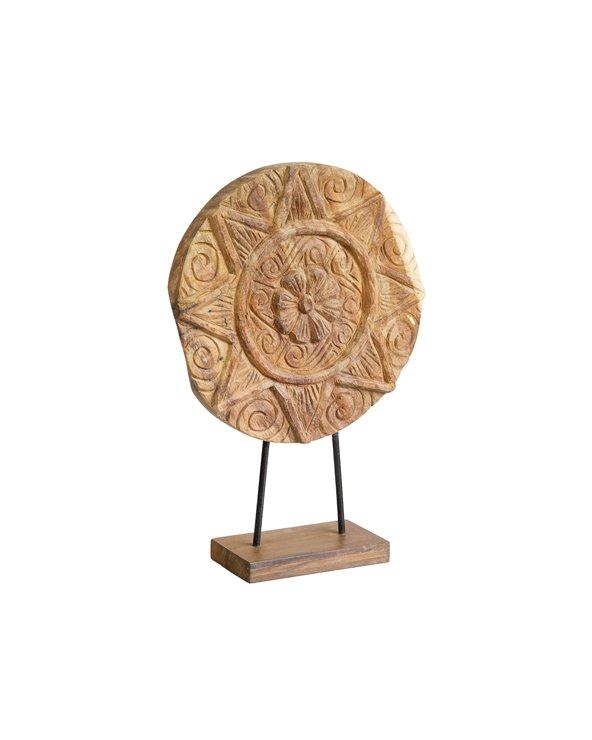 Handmade wooden figure Star