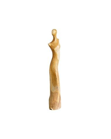 Handmade wooden figure Woman
