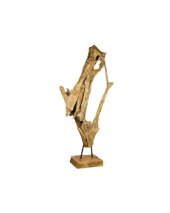 Figura fusta Rama feta a mà