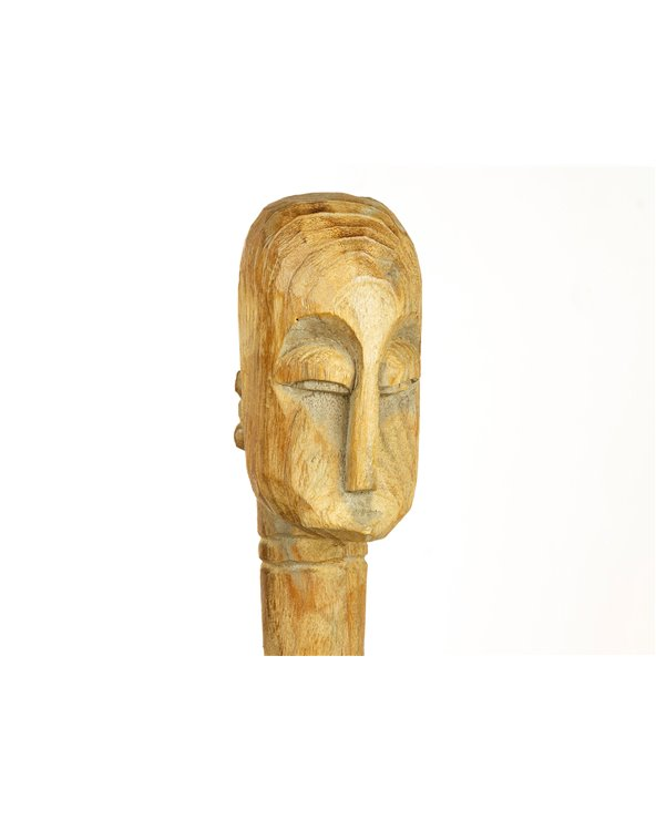 Figura madera Étnica hecha a mano
