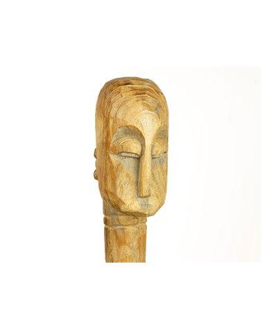 Figura fusta Ètnica feta a mà