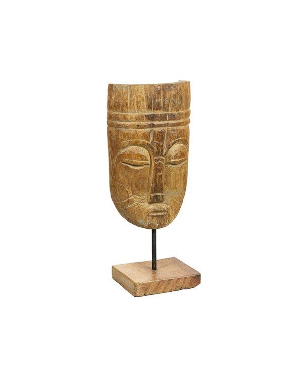 Figura fusta Ancià feta a mà