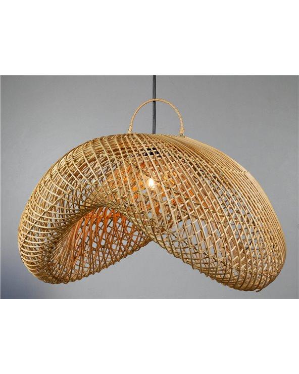 Lámpara de techo Bohemia hecha a mano