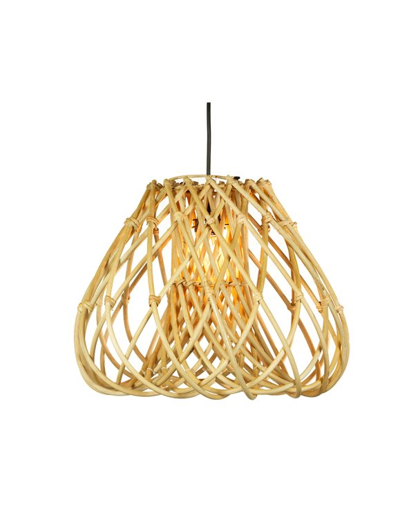 Lámpara de techo rama oval hecha a mano