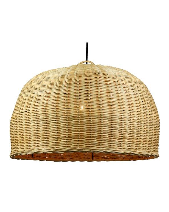 Handmade braided ceiling lamp
