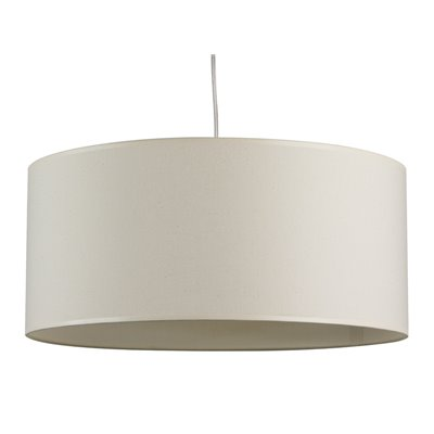 Canvas ceiling lamp