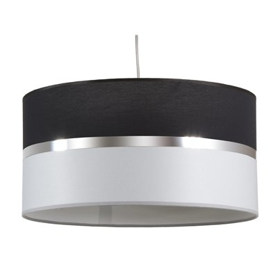 Black and grey ceiling lamp