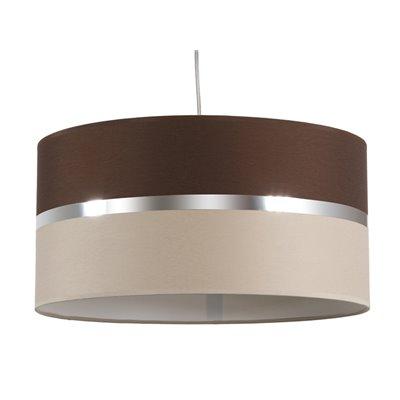 Wenge/sand ceiling lamp
