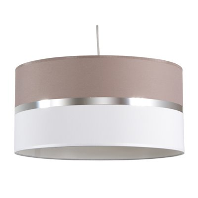 Ash and white ceiling lamp