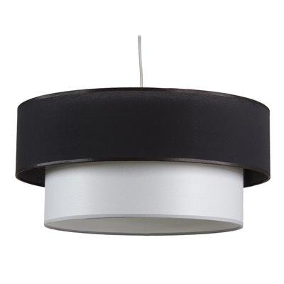 Lámpara techo doble pantalla