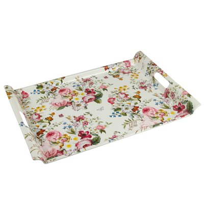 Bloom White tray