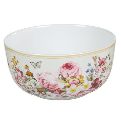 White porcelain bowl Bloom