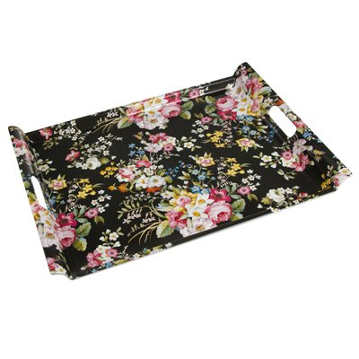 Bloom Black tray