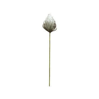 Flor espuma gris 87 cm
