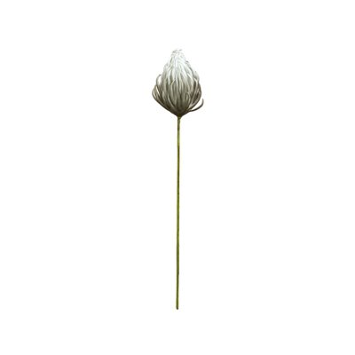 Foam flower grey 87 cm