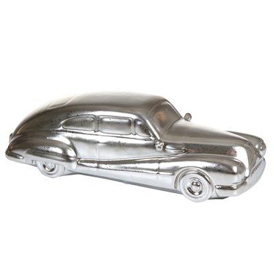 Figure car silver