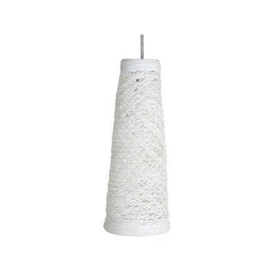 Lámpara de techo color blanca